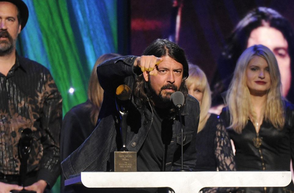 Dave Grohl Hall Of Fame